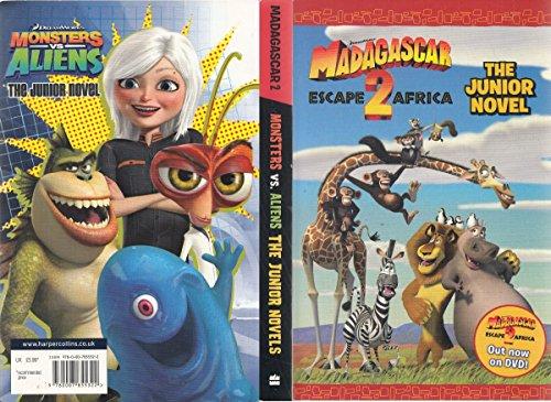 9780007855322: Madagascar 2 / Monsters vs Aliens (The Junior Novel)