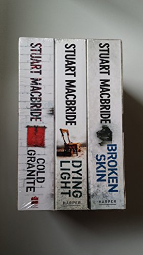 9780007856145: Stuart MacBride Box Set: Cold Granite / Dying Light / Broken Skin