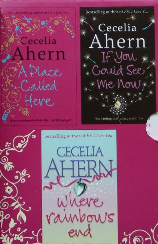 9780007856251: Cecelia Ahern Box Set: If You Could See Me Now / Where Rainbows End / A Place Called Here