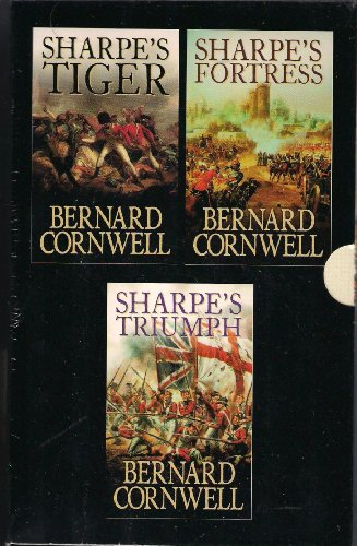 9780007856268: Bernard Cornwell - 3 book box set: Sharpes Fortress, Sharpes Triumph and Sharpes Tiger