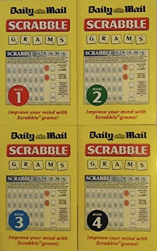 9780007860111: Daily Mail Scrabble Grams - Volumes 1-4 Gift Set