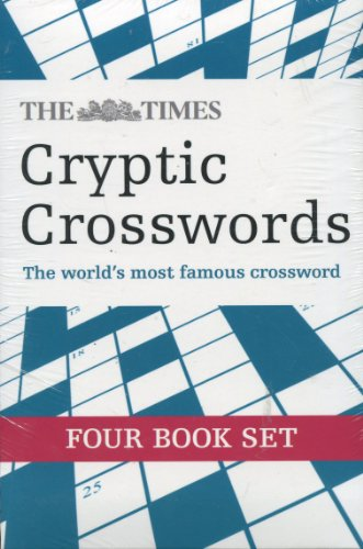9780007860166: The Times Cryptic Crossword Four Book Set