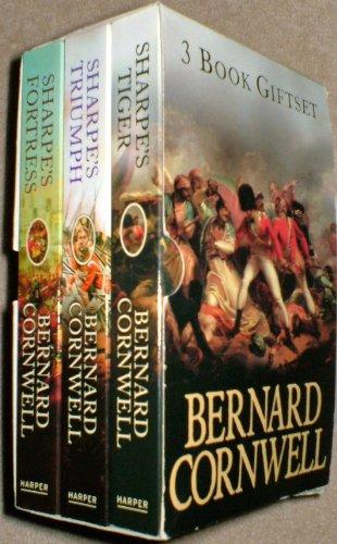 9780007860739: 3 Book Giftset: Sharpe's Triumph / Sharpe's Tiger / Sharpe's Fortress