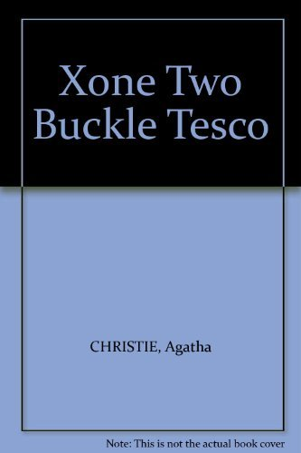 9780007860821: Xone Two Buckle Tesco