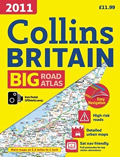 9780007869084: 2011 Collins Road Atlas Britain