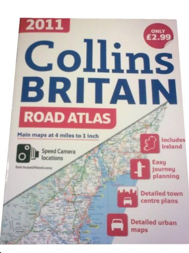 9780007869091: 2011 Collins Road Atlas Britain