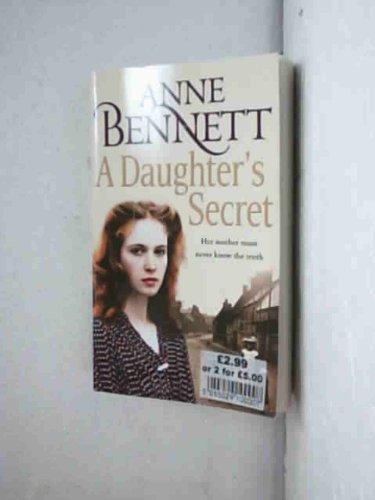 9780007874866: A Daughter's Secret