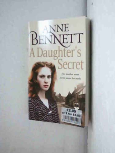 9780007874866: A Daughter's Secret