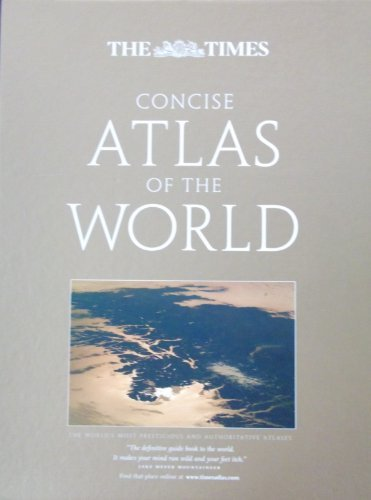 9780007876655: The Times Concise Atlas of the World.