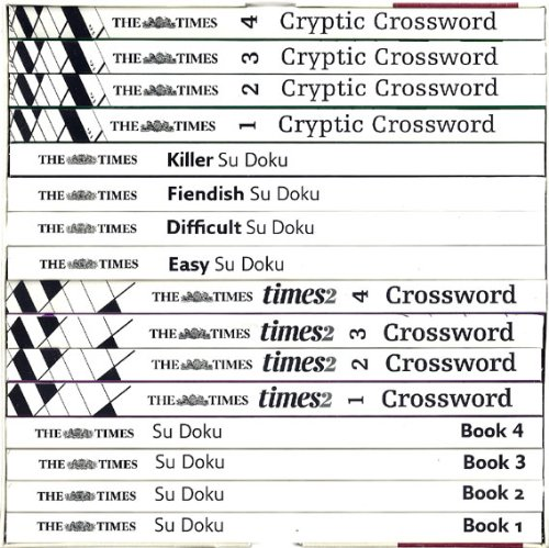 9780007882908: The Times Ultimate Puzzle Collection 12 Books RRP �91.84: Cryptic & times2 Crossword Book 1, 2, 3 & 4; Su Doko 1, 2, 3 & 4 plus Killer, Fiendish, Difficult & Easy