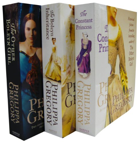 9780007887415: Philippa Gregory Box Set - Constant Princess, The Other Boleyn Girl, Boleyn Inheritance