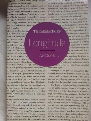 9780007890156: Longitude