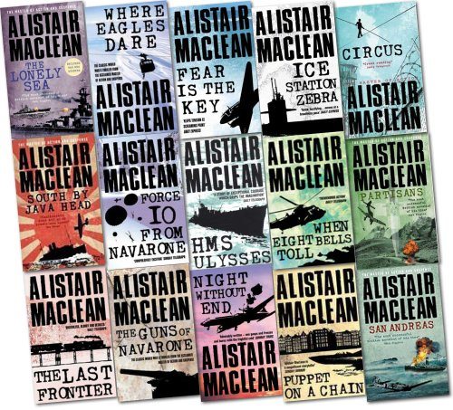 9780007892457: Alistair MacLean Collection 15 Books Set Pack