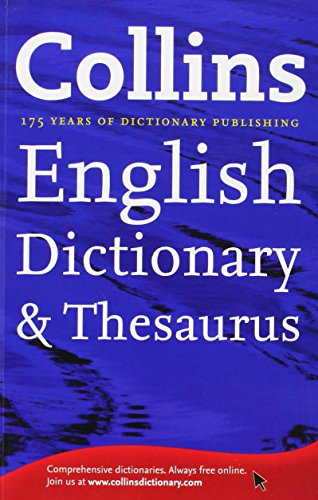 9780007894758: Collins English Dictionary and Thesaurus