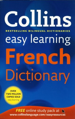 9780007894765: Collins Easy Learning French Dictionary