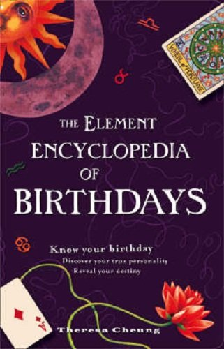 9780007922673: The Element ENCYCLOPEDIA of BIRTHDAYS.