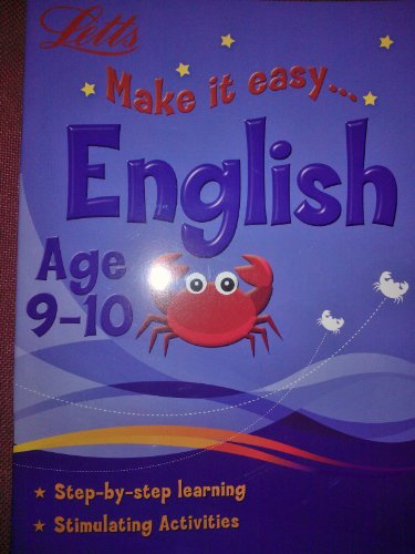 9780007923786: Make it easy English Age 9-10 (Letts)