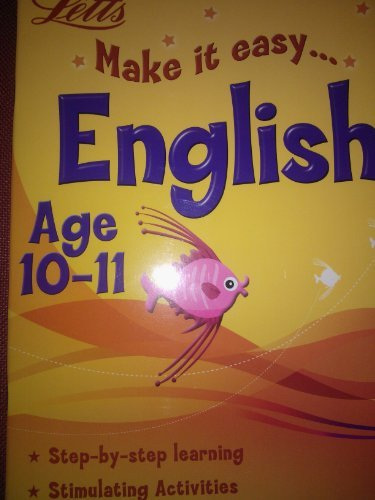 9780007923793: Make it easy English Age 10-11 (Letts)