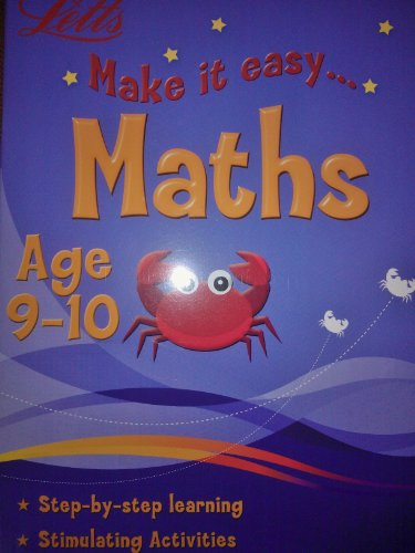 9780007923861: Make it easy Maths Age 9 - 10 (Letts)
