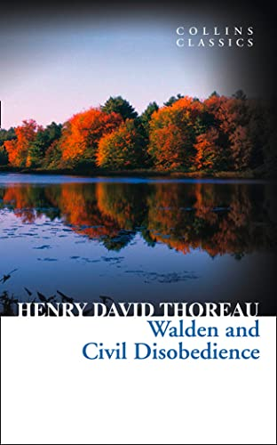 9780007925292: Walden and Civil Disobedience (Collins Classics)