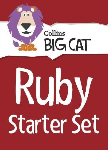 9780007929191: Collins Big Cat Sets - Ruby Starter Set : Band 14/Ruby