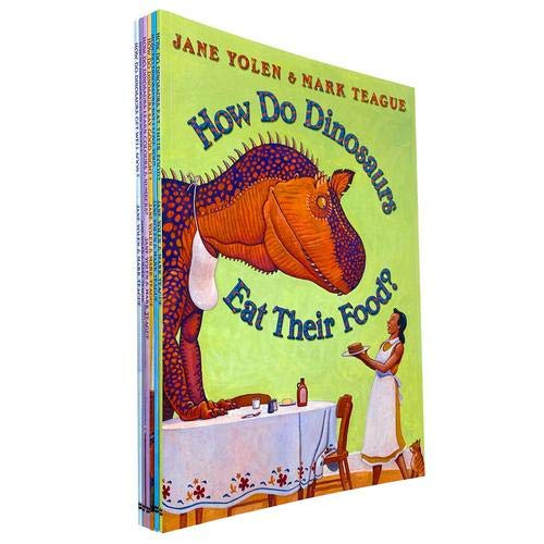 9780007929979: How Do Dinosaurs Collection. 6 Books (How do Dinosaurs say Good Night, Eat Their Food, Learn Colours and Numbers, Get Well Soon, Go To School, Say I Love You). RRP £36.94.