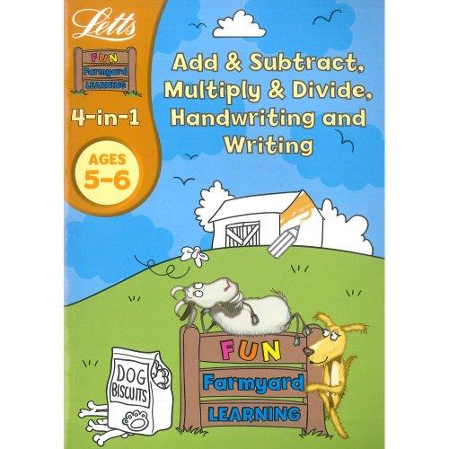 9780007933471: Letts Fun Farm Yard Learning Age 5 to 6 4 In1