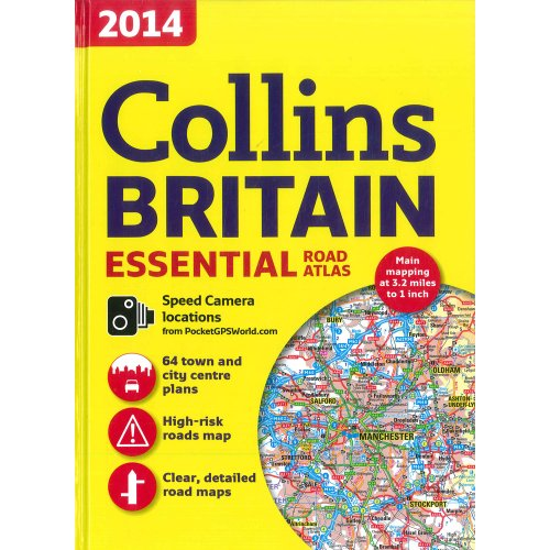 9780007934546: 2014 Collins Britain Essential Road Atlas