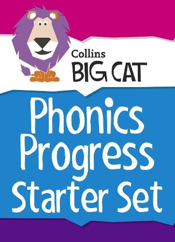 9780007934669: Collins Big Cat Sets - Phonics Progress Starter Set: Band 01A Pink - Band 04 Blue