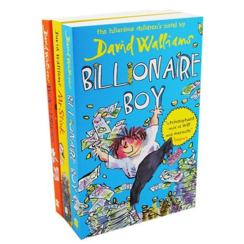9780007936328: David Walliams Pack, 4 books, RRP £26.96 (Billionaire Boy; Boy In The Dress; Gangsta Granny; Mr Stink).