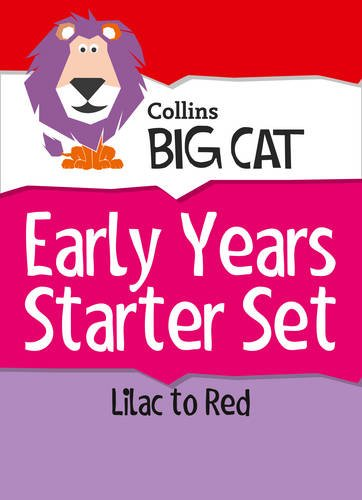 9780007938025: Collins Big Cat Sets - Early Years Starter Set: Band 00 Lilac - Band 02B Red B