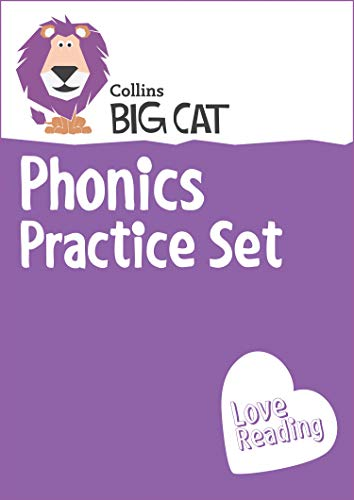 9780007938032: Complete Phonics Starter Set: Band 01a Pink - Band 04 Blue (Collins Big Cat Sets)