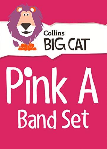 9780007938056: Collins Big Cat - Pink A Starter Set: Band 01A/Pink A