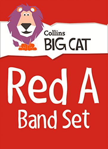 9780007938070: Red A Starter Set: Band 02a/Red a (Collins Big Cat Sets)