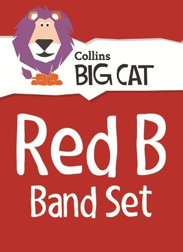 9780007938087: Red B Starter Set: Band 02B/Red B (Collins Big Cat Sets)