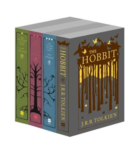 9780007939350: The Hobbit and The Lord of the Rings (Four book set) (Special Edition)