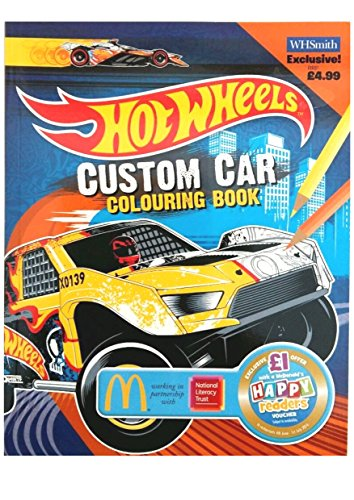 9780007940820: Custom Car Colouring Book EXTRA (Hot Wheels)