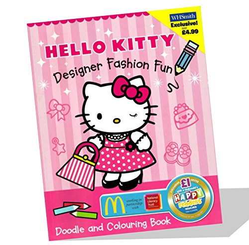9780007940837: Hello Kitty Designer Doodle Book and Colouring Book (Hello Kitty)
