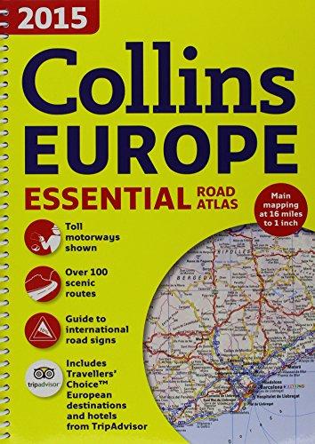 9780007943289: Collins Essential Road Atlas Europe
