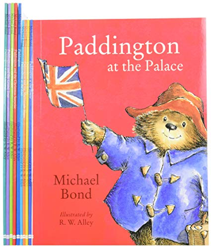 9780007943302: Paddington Bear 10 Books Collection Pack Set in Carrier Bag by Michael Bond (In the Garden, The grand Tour, Christmas Surprise, at the Zoo, the Marmalade Maze, at the Palace, at the carnival, etc