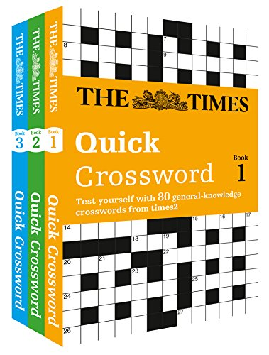9780007946204: The Times Quick Crossword Gift Set