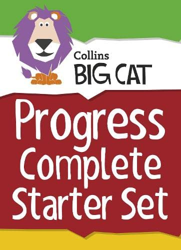 9780007946761: Collins Big Cat - Collins Big Cat Sets Progress Complete Starter Set: Band 03 Yellow - Band 11 Lime