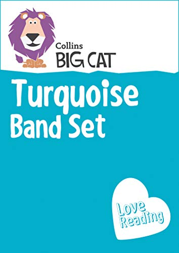 9780007946808: Collins Big Cat Sets - Turquoise Starter Set: Band 07/Turquoise