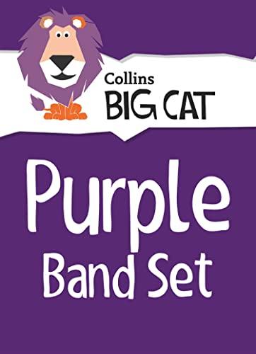 9780007946815: Collins Big Cat Sets - Purple Starter Set: Band 08/Purple