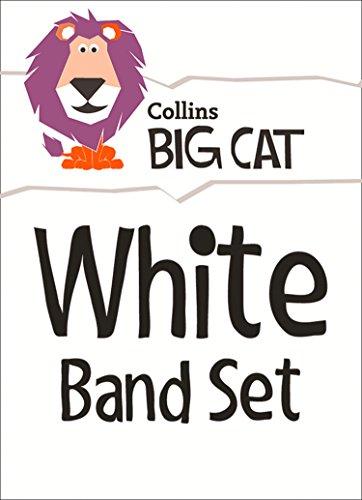 9780007946839: Collins Big Cat Sets - White Starter Set: Band 10/White