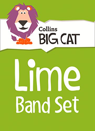 9780007946846: Collins Big Cat Sets - Lime Starter Set: Band 11/Lime