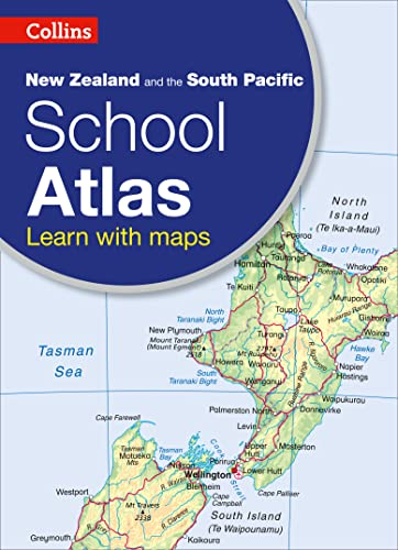 9780007946914: Collins New Zealand and the South Pacific School Atlas