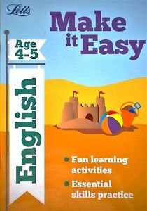 9780007947997: Letts Make It Easy English Age 4 5