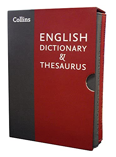 9780007948918: Collins English Dictionary and Thesaurus Slipcase Set
