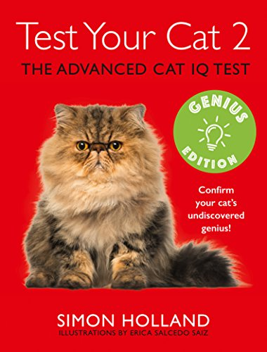 9780007949298: Test Your Cat 2: Genius Edition: Confirm your cat's undiscovered genius!